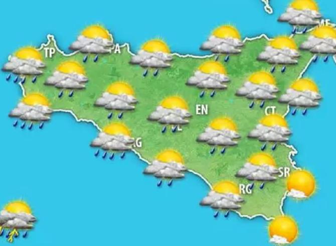 Situazione meteo prevalentemente instabile su tutta la Penisola