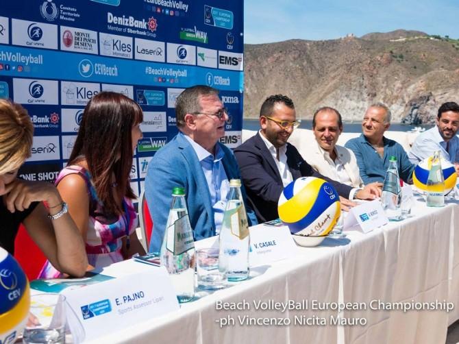 conferenza stampa beach volley