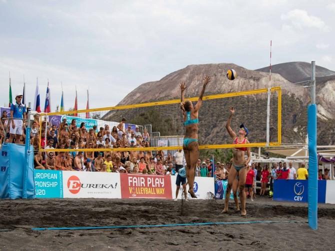 Beach Volley, finali Europeo U20: la Russia sorride due volte, azzurre sconfitte. LE FOTO